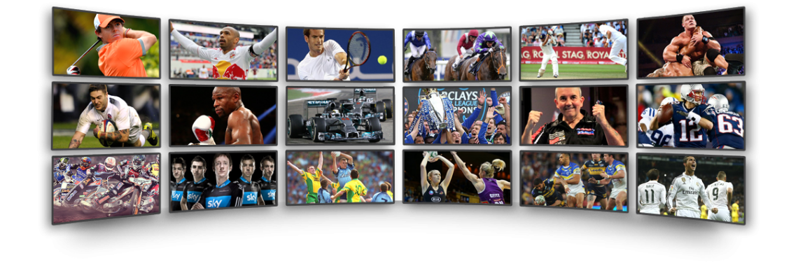Get the most complete sports package